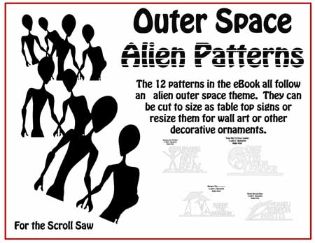 Ebookpatterncollections outer space alien patterns ebook fandeluxe Images