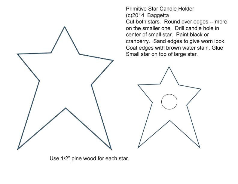free printable primitive star patterns Tall Pumpkin Outline Clip Art