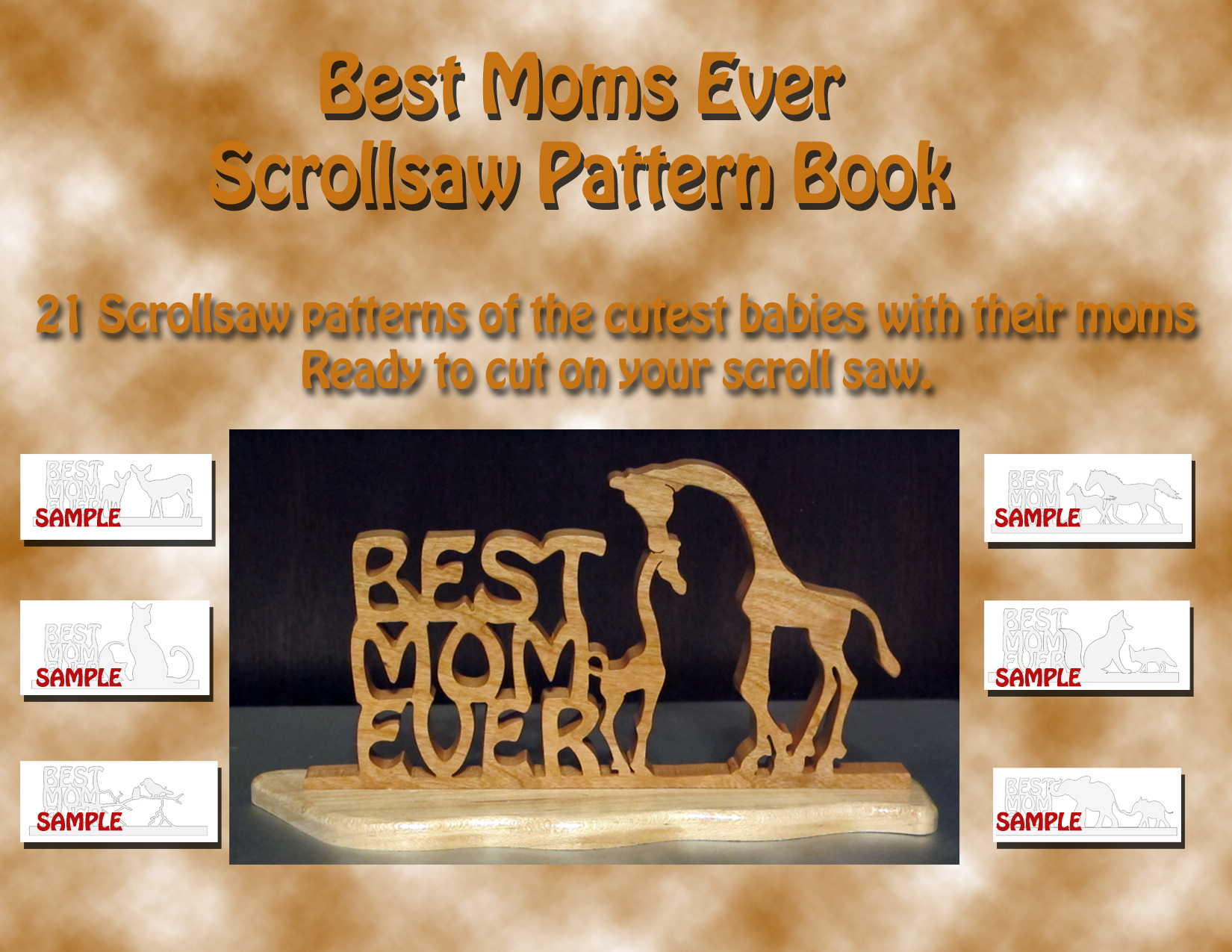 Ebookpatterncollections best moms ever ebook of scrollsaw sign patterns fandeluxe Images