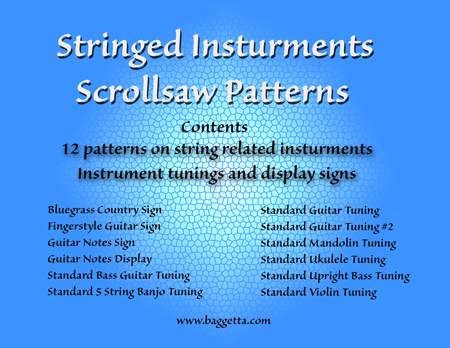 Ebookpatterncollections stringed instruments scrollsaw patterns ebook this interesting collection of patterns is dedicated to stringed instrument players guitars banjos fandeluxe Images
